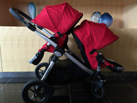 2013 Baby Jogger City Select - Double Seat + Bassinet