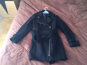 MICHAEL KORS WOMAN'S LONG COAT FOR SALE (USED, GREAT CONDITION)