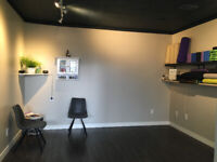 Inner city, Group / Wellness space for rent;150sqft +
