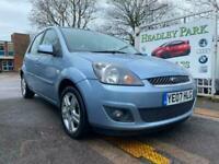 2007 Ford Fiesta 1.25 Zetec 5dr [Climate] HATCHBACK Petrol Manual