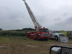 Fire Truck and Heavy Equipment