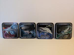 Star Trek Drink Coasters, Set of 4!