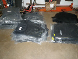 Various Toyota floor mat sets