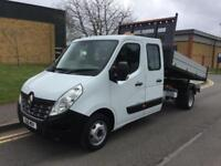2016 Renault Master 2.3 dCi DCLL35 TW Business Crewcab Tipper RWD RWD 4dr Manual