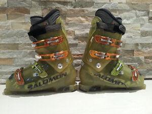 Salomon 1080 Mondo Ski Boots - Great Condition - Size 9 Men's