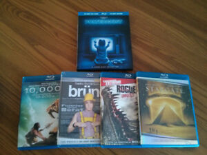 Blu-ray Movies and Shows from AMC, The CW and FX