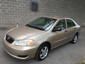 Toyota Corolla CE 2005 Beige Automatic with Cruise Control