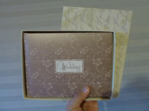 New Wedding Guest Book in Dusty Rose Color