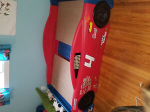 Bed - kids race car bed