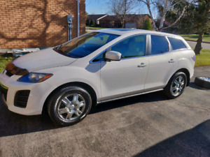 2010 Mazda cx7  with winter tires