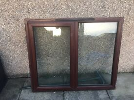 Brown PVC Windows for sale variety of sizes