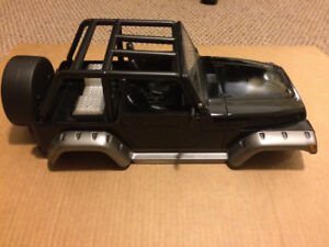 1/10 RC jeep hard body