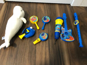 Finding Dory Toy Lot