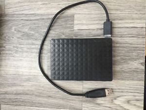 4TB Seagate  Portrable drive Like new