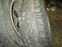 mags de mazda avec des pneus hiver 235 70 116