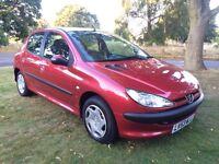 2004 Peugeot 206 1.4 HDI Diesel 12 Months MOT