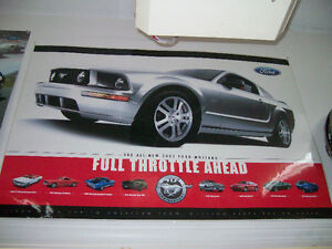 Poster / Affiche 2005 Mustang GT, Full throttle ahead