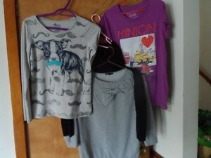 4 SIZE 14 GIRL'S TOPS