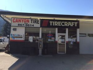 BUSINESS FOR SALE.CANYON TIRECRAFT