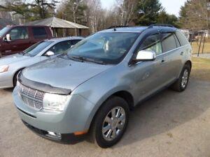 2007 LINCOLN MKX SUV -AWD EXCELENT COND  $7995. CERT