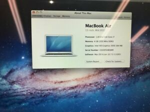 MacBook Air for less only cash and pickup