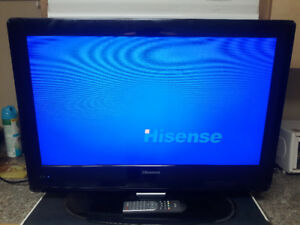 Like new 32inch Hisense LCD flat screen tv