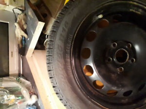 Firelli tires with rims