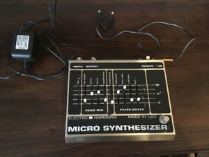 Vintage Electro-Harmonix EHX Micro Synthesizer -for bass & guit!