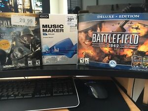 PC games and music maker