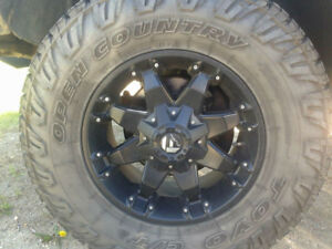 Fuel Octane Rims and Tires