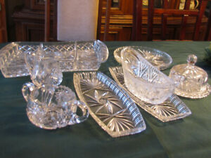 Pinwheel Crystal Heirloom Pieces
