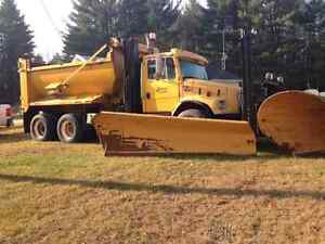 Plow sand truck for sale