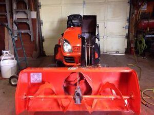 Kabota lawn tractor/snowblower