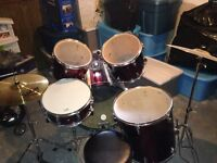 West bury drum set like new condition