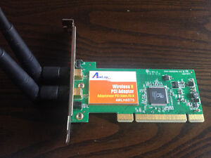 Wireless N PCI expansion card for PC
