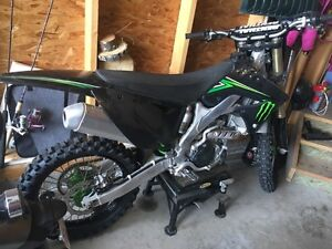 2008 Kawasaki 250F Monster Energy Edition