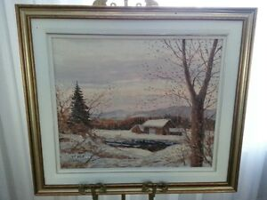 Original Oil Painting by A. M. Roberts - Listed Canadian Artist