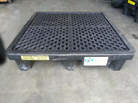 4 Drum spill containment pallet $300