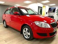 Used, Skoda Fabia 1.6TDI £30 ROAD TAX Diesel Red Estate WARRANTY 12 MONTHS MOT FULL SH for sale  Cumbernauld, Glasgow