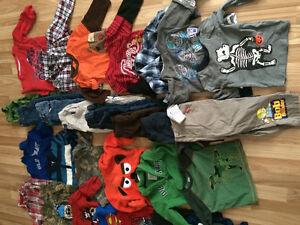 Huge boys clothing lot. Size 2T. Over 145 pieces total.