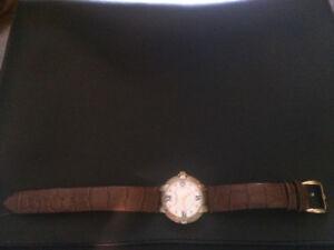 Swiss Leather Watch