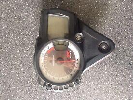 Suzuki gsxr speedo clock