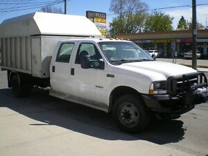2004 FORD F450 DUMP CHIPPER BOX (4X4)