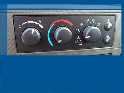 2006 2007 Dodge Ram 1500 2500 3500 AC HEATER MANUAL TEMPERATURE CLIMATE CONTROL 07 Dodge Ram Manual