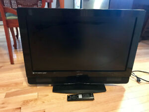 "32"" Vizio flat screen tv with remote"