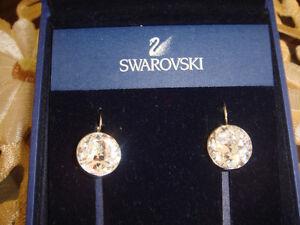 Swarovski Crystal Clear Bella Style Earrings