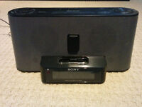Sony Ipod dock/Clock Radio