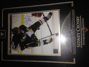 Sydney Crosby Autographed Framed Picture
