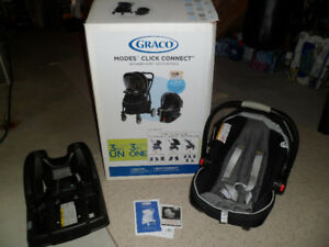GRACO MODES CLICK CONNECT TRAVEL SYSTEM ONYX CAR SEAT STROLLER