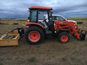 Kioti 60 HP Tractor and Numerous Attachments